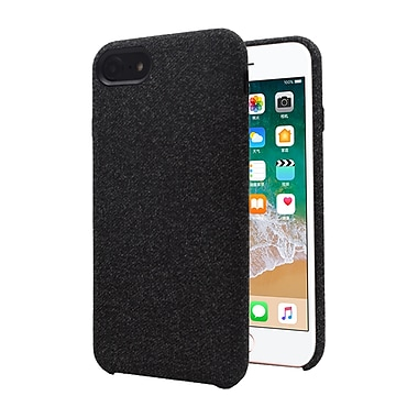 Axessorize Allure Fabric iPhone 8/7 Case, Comet Black (IP7F1000)