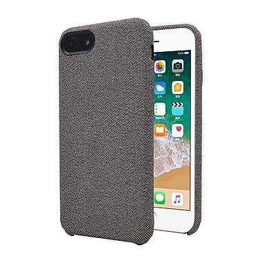 Axessorize Allure Fabric iPhone 8/7 Case, Glacier Grey (IP7F1001)