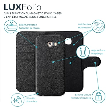 Axessorize Magnetic Folio Samsung Galaxy A5 2017 Case
