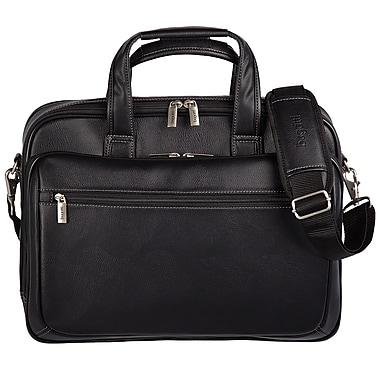 Bugatti Synthetic Leather Executive Laptop Briefcase 03554cf40e1c1