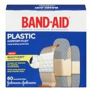 BAND-AID Brand® COMFORT-FLEX Plastic Bandages, Assorted, 60/Pack