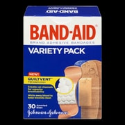 BAND-AID Brand® Adhesive Bandages, Variety Pack, 30/Pack