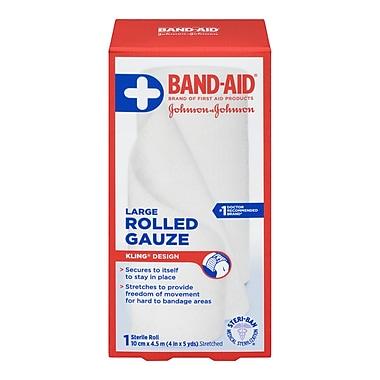 BAND-AID® – Produits de premiers soins, Gaze en rouleau, large
