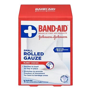BAND-AID® – Produits de premiers soins, Gaze en rouleau, petit