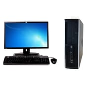 HP Refurbished 6200 PRO SFF Desktop Computer, 2.7 GHz Pentium Dual Core G620, 1 TB HDD, 16 GB DDR3, Bundled with 22 LCD Monitor