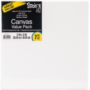 "Studio 71 Stretched Canvas Value Pack 7/Pkg-12""X12"""