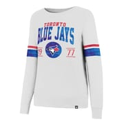 Ladies' Toronto Blue Jays MLB Ultra Throwback Crew Fleece