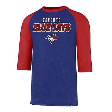 Toronto Blue Jays MLB Club Raglan Tee, Small