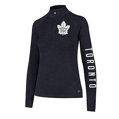 Ladies' Toronto Maple Leafs NHL Forward Microlite Shade 1/4 Zip, Large