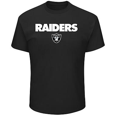 Oakland Raiders NFL Pick Six T-Shirt, Extra Large