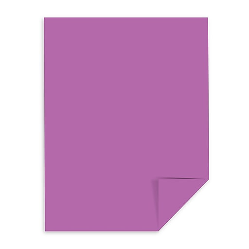 Astrobrights Color Paper 8 1 2 X 11 24 Lb Planetary Purple