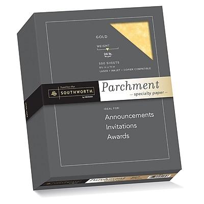 Southworth Parchment Specialty Paper, 8.5