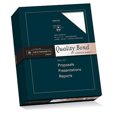 Southworth Quality Bond Paper, 8.5