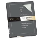 "Southworth Parchment Specialty Paper 8.5"" x 11"" 24 lb. Celery, 100 Sheets/ Box (P874CK)"