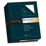 "Southworth 100% Cotton Business Paper, 8.5"" x 11"", 20 lb., Smooth Finish, White, 500 Sheets/Box (SOU3112410)"