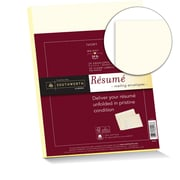 "Southworth 25% Cotton Envelopes and Resume Labels, 9"" x 12"", 24 lb., Ivory, Mailing Envelopes, 25 Each/Pack (RF#4Q)"