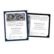 "Southworth Certificate Holders, 9.5"" x 12"", 105 lb., Linen Finish, Black, 10/Pack (PF18)"