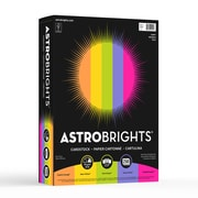 "Astrobrights Colored Cardstock, 8.5"" x 11"", 65 lb./176 gsm, ""Happy"" 5-Color Assortment, 250 Sheets/Pack (21004/ 22004)"