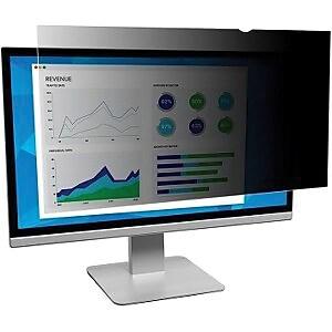 """3M™ PF280W9B 28"""" Monitor Privacy Filter, 16:9 Aspect Ratio, Widescreen, LCD"""