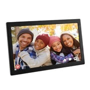 "Aluratek 17.3"" WiFi Digital Photo Frame with Touchscreen IPS LCD Display (AWDMPF117F)"