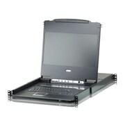 Aten® CL6708MW 8-Port Single Rail DVI FHD LCD KVM Switch
