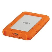 LaCie Rugged STFR2000800 2TB External Hard Drive, Orange