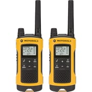 motorola T402 Talkabout Rechargeable Two-Way Radio, Yellow