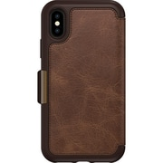 Otter Box Strada Pro Pack Folio Case for Apple iPhone X, Espresso (78-51635)