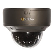 Q-See® QTN8044D Wired Indoor/Outdoor Dome Network IP Camera, Night Vision, Black