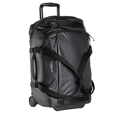 Timbuk2 Quest Jet Black Nylon Small Rolling Duffel (2529-4-6114)