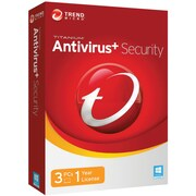 Trend Micro™ Box Pack Internet Security 2018 Software, 3 Device (TINM0147)