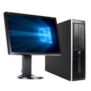 Refurbished HP Pro 6300 SFF Desktop, Intel Ci5-3470 3.20 GHz Quad-Core+NEC E222W 22''(ST9029785598152)