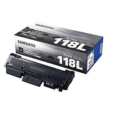 Samsung - Cartouche de toner noir MLT-D118L haut rendement (7861DY)
