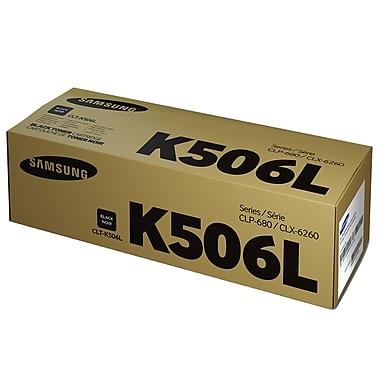 Samsung - Cartouche de toner CLT-K506L noir, haut rendement (7953DY)