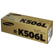 Samsung CLT-K506L High Yield Black Toner Cartridge (SU175A)