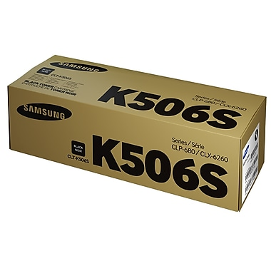 Samsung CLT-K506S Black Toner Cartridge (SU184A)