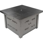 Zen Temp® Square Fire Pit, Bronze (ZT-FP-100-SQ)