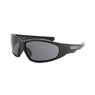 Harley-Davidson Unisex Sunglasses, Black Frame, Grey Lens (HDS608-BLK-364)