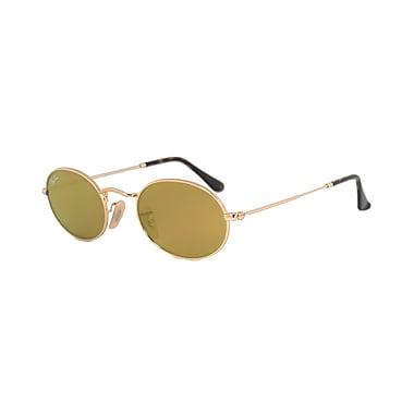 8d9e4fe4c0 Ray Ban Unisex Oval Flat Lenses Sunglasses