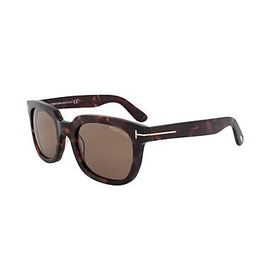 b514bc3837 Tom Ford Unisex Campbell Square Sunglasses