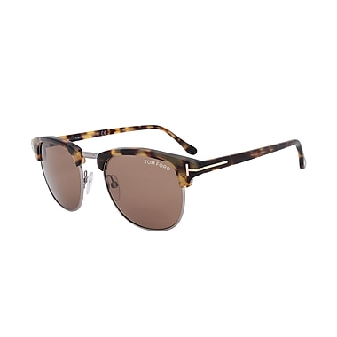 Tom Ford Henry Square Sunglasses, 53mm (FT0248-55J-53)