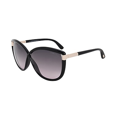 Tom Ford Women's Abbey Square Sunglasses (FT0327-01B-63)