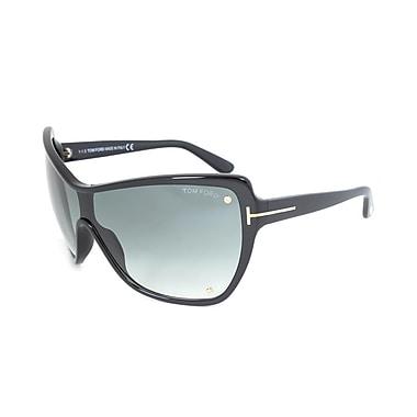 Tom Ford Women's Ekaterina Sunglasses, Black Frame, Grey Lens (FT0363-01B-0)