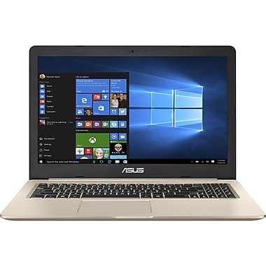 Asus – VivoBook Pro N580VD-DS76T, tactile 15,6 po, Core i7-7700HQ 2,8 GHz, dd 1 To + SSD 256 Go, DDR4 16 Go, Win 10