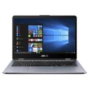 Asus – VivoBook Flip TP410UA-DS71T, 14 po, tactile 2-en-1, Intel Core i7-8550U à 1,8 GHz, DD 1 To, DDR4 8 Go, Win 10 64 bits