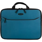 "Mobile Edge SlipSuit Teal Cushioned EVA Sleeve for 16"" Notebook (MESS9-16)."