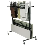 NPS® Table and Chair Storage Dolly with Checkerette Bars (42-8-60)