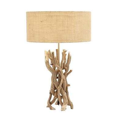 Benzara Table Lamp, Brown (67711)