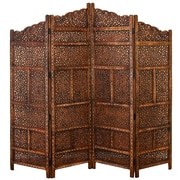 Benzara Room Divider, Brown (34006)