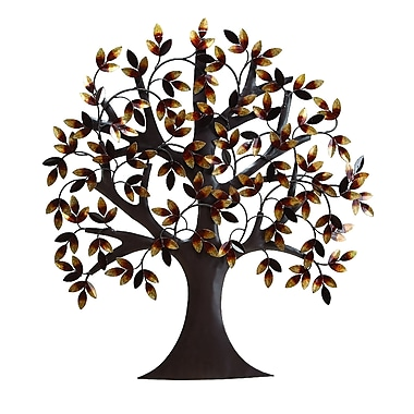 Benzara Tree Wall Decor, Brown (13862)